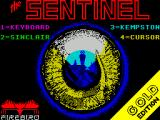 The Sentry ZX Spectrum Title screen