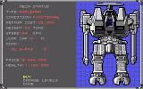 MechWarrior DOS Buy a new Mech