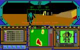 MechWarrior DOS ingame action