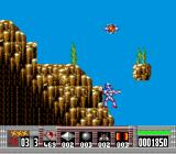 Turrican TurboGrafx-16 A power-up flies by