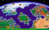 Nuclear War DOS ingame main screen