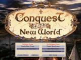 Conquest of the New World DOS Main Menu