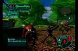 Phantasy Star Online Episode I & II GameCube Fighting off some rude looking monsters