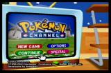 Pokémon Channel GameCube Title Screen