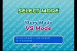 Ribbit King GameCube Mode Select: Single Player or 1-4 Player Versus