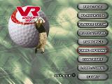 VR Golf '97 PlayStation Main menu (English)