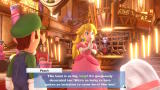 Luigi's Mansion 3 Nintendo Switch Intro: Peach is already exited