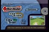 Kirby Air Ride GameCube Mode Select