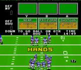John Madden Football '92 SNES Play Select Interface