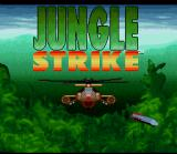 Jungle Strike SNES Title Screen