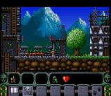 King Arthur's World SNES Or join forces and use a battering ram