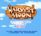 Harvest Moon SNES German Title