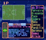 International Superstar Soccer SNES Choose your team and good luck!