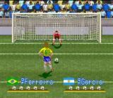 International Superstar Soccer SNES Penalty kick: moment of suffering!