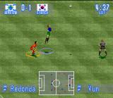 "International Superstar Soccer SNES ""I'm a Super Star! This ball is mine! MINE!!!"""