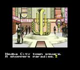 The Space Adventure SEGA CD Hedba City central square. I like the shape of that statue!