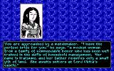 Sword of the Samurai DOS Choose a wife of commendable honour.