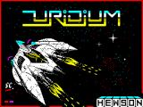 Uridium ZX Spectrum Title screen