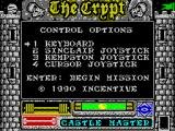 Castle Master + Castle Master II: The Crypt ZX Spectrum Character selection
