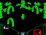 Knight Lore ZX Spectrum You change to a werewolf when the moons up