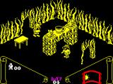Knight Lore ZX Spectrum One of the many rooms