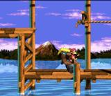 Donkey Kong Country 3: Dixie Kong's Double Trouble! SNES Dixie is had fun in diverse ways: either taking a walk in a steel barrel...