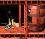 Donkey Kong Country 3: Dixie Kong's Double Trouble! SNES Belcha's set of teeth needs repairs... Other funny bug of the game!