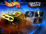Hot Wheels: Stunt Track Driver 2: GET 'N DIRTY Windows Main Menu