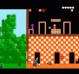 Pesterminator: The Western Exterminator NES Starting the game, the doors lead to different rooms.
