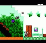 Pesterminator: The Western Exterminator NES Flying bugs in the hotel level.