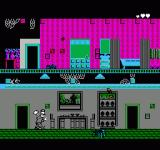 Pesterminator: The Western Exterminator NES The mansion level, with the first large bugs.