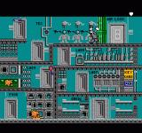 Pesterminator: The Western Exterminator NES The final level, inside the moon base.