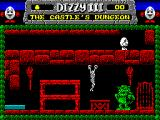 Fantasy World Dizzy ZX Spectrum Dizzy escapes the clutches of the Evil King's Troll!