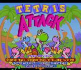 Tetris Attack SNES Title screen