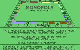 Monopoly Commodore 64 Copyright crap