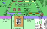 Monopoly Commodore 64 Rupert landed on Euston Road