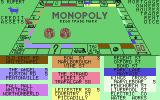 Monopoly Commodore 64 A screen telling you who owns which property