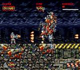 Turrican 3 Genesis Hey, it's the wreck of one of the SNES-bosses!
