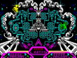 Purple Saturn Day ZX Spectrum Brain Bowler: Hurl your electro ball in this puzzle game