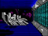 Purple Saturn Day ZX Spectrum Ring Pursuit loading screen