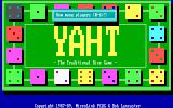 MicroLink Yaht DOS Title screen