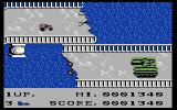 BreakThru Commodore 64 Not only is a bridge out, but a tank is attacking!