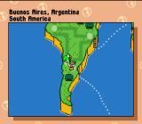Mario is Missing! SNES I think I am in Buenos Aires, so I'll try sending Yoshi there.