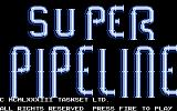 Super Pipeline Commodore 64 Title screen