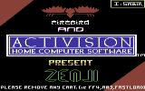 Zenji Commodore 64 Loading screen (Firebird release)