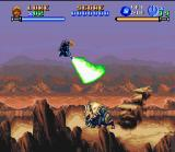 Super Star Wars: Return of the Jedi SNES Luke crosses the Tatooine desert in search of Han Solo. Your Jedi fighting style remains unchanged.