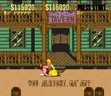 Sunset Riders SNES A good sheriff always helps the most needed without blinking.