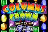 Columns Crown Game Boy Advance Title Screen (US)