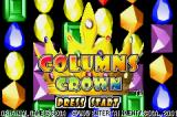 Columns Crown Game Boy Advance Title Screen (Jpn)
