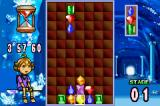 Columns Crown Game Boy Advance Flash Columns: The goal is to clear the specified gem